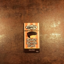Peanut butter Cups Dark Chocolat Eric's (30g)