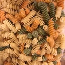 Spirales blé dur multicolore BIO (500g)