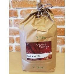 Farine fleur de blé BIO (2,5kg) - Val-de-Ruz