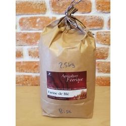 Farine de blé bise (2,5kg) - Val-de-Ruz