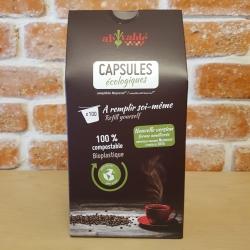 Capsules à remplir 100% compostables - Ah table